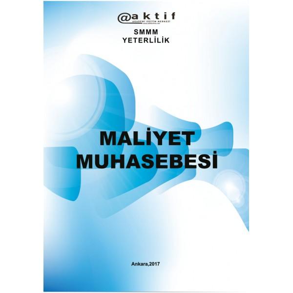 SMMM Yeterlilik Sınavı Maliyet Muhasebesi Kitabı